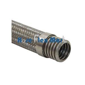 HoseFlexMart SS 321 Corrugated Flexible Hose with SS 304 Braid